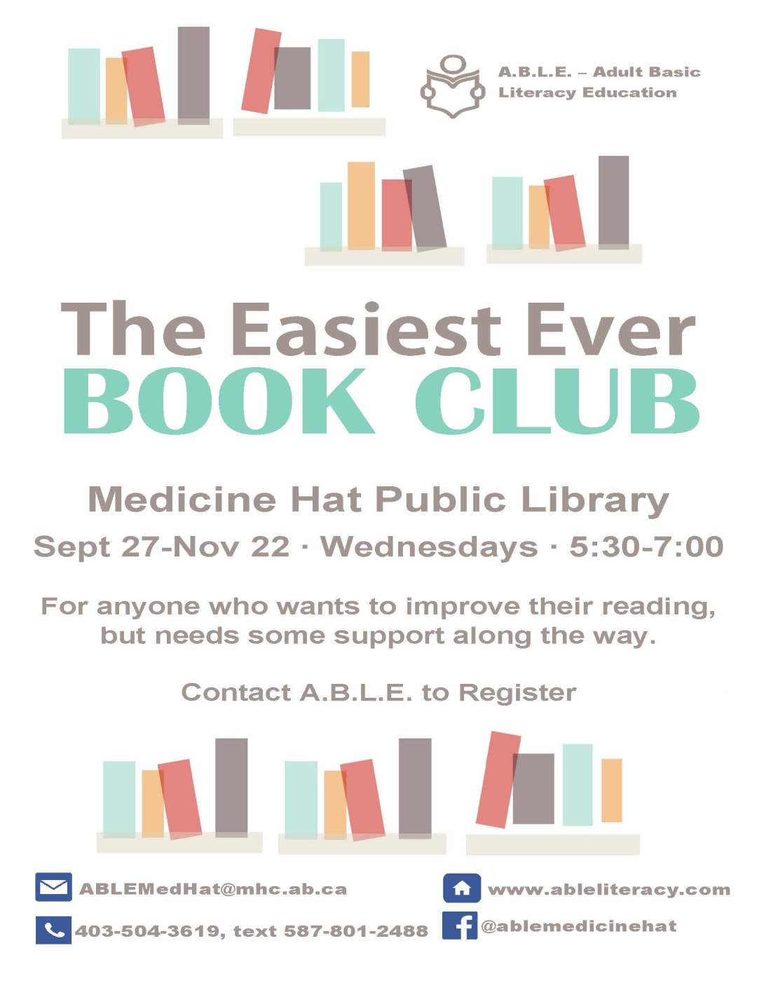 Easiest Ever Book Club Fall 2017