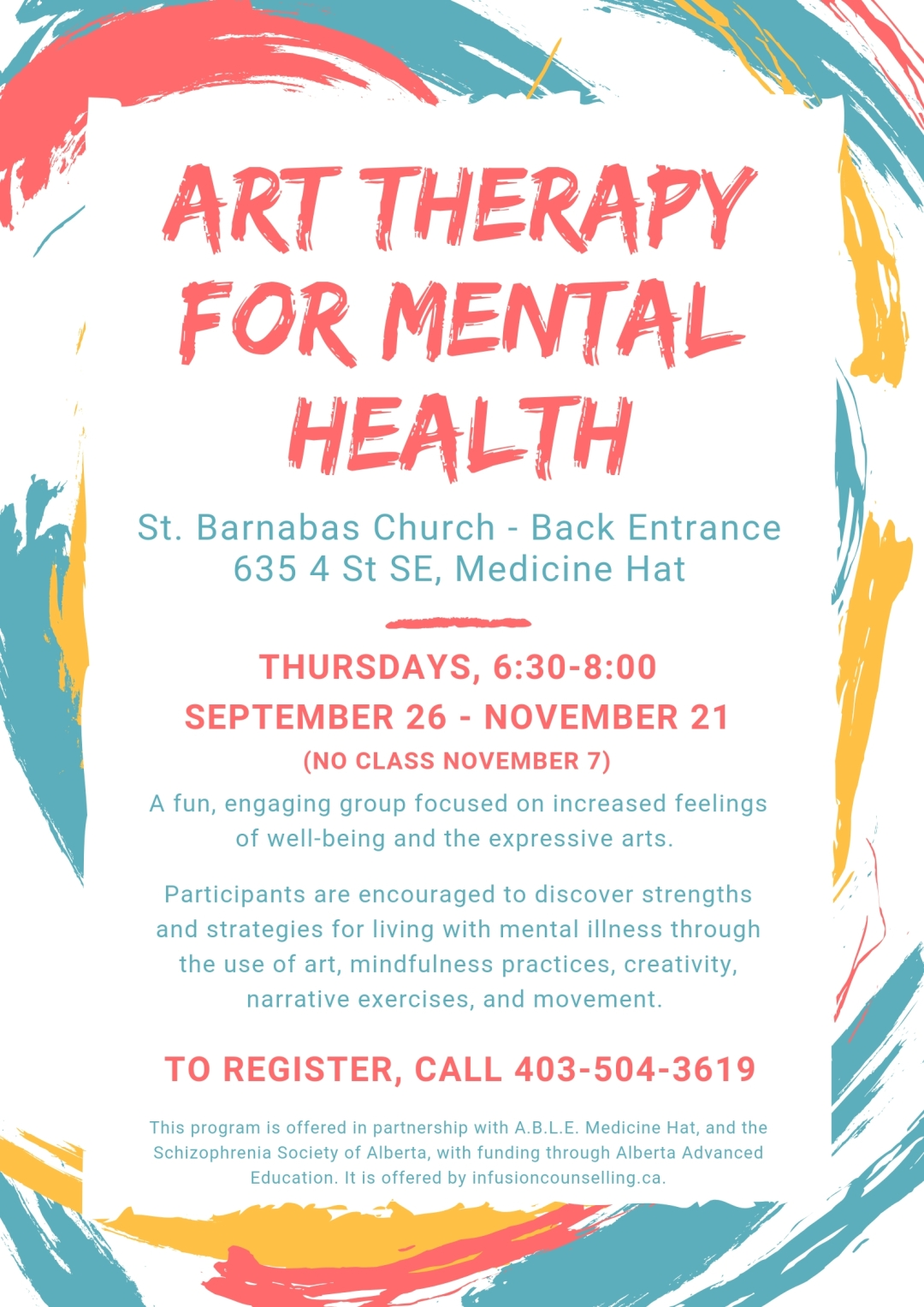 Art Therapy for Mental Health - Fall 2019