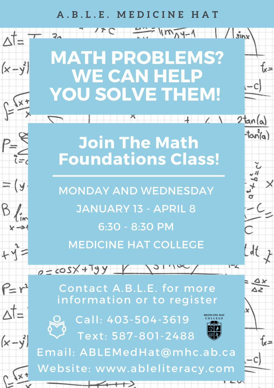 Math Foundations - Winter 2020