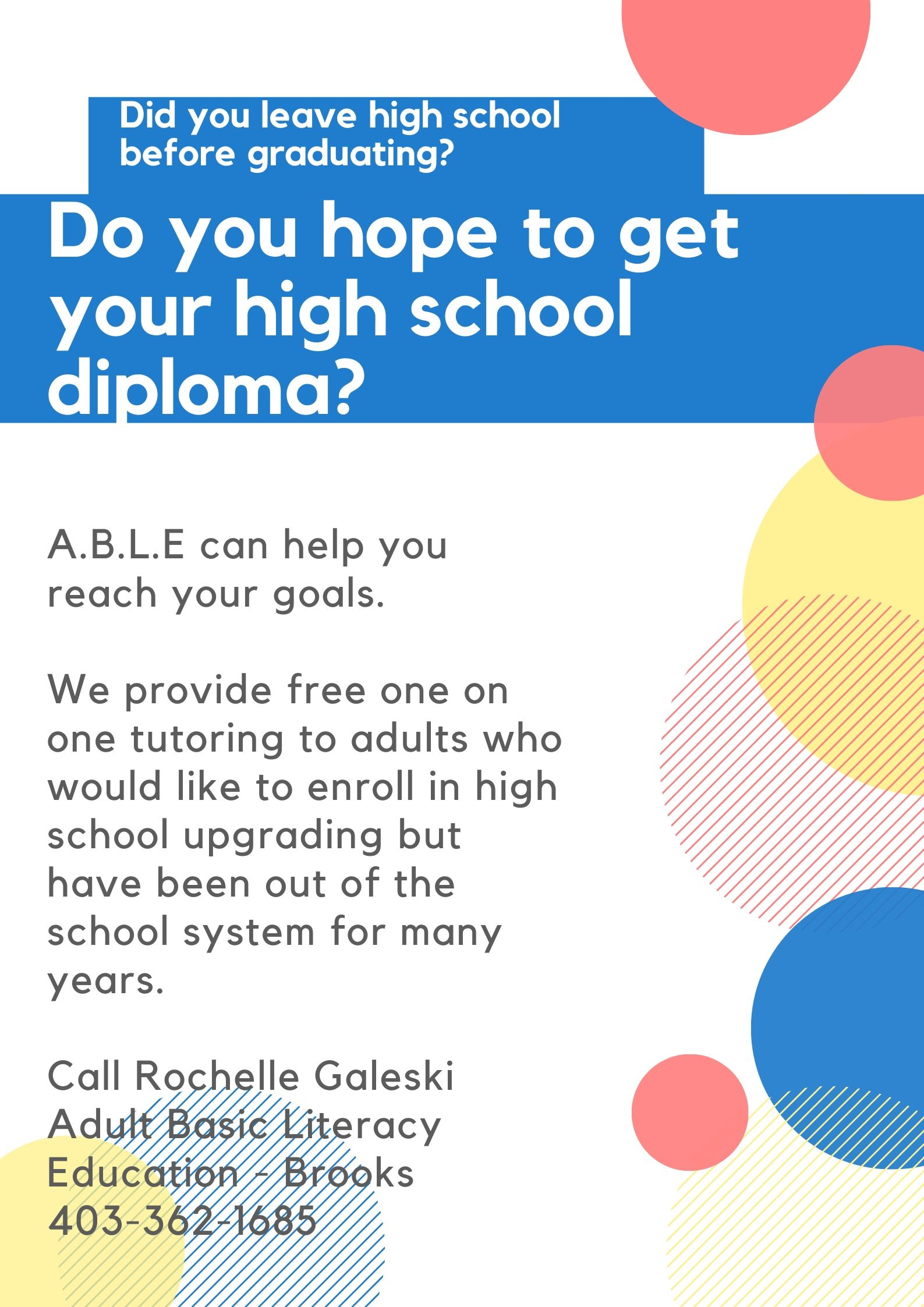 Do you hope to get your high school diploma_