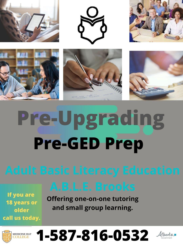 Pre-Upgrading Pre-GED Prep